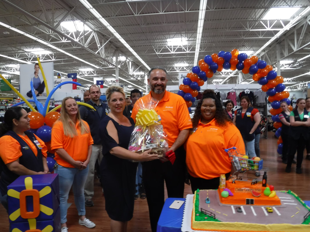 ribbon cutting ceremony for walmart 3319 online grocery